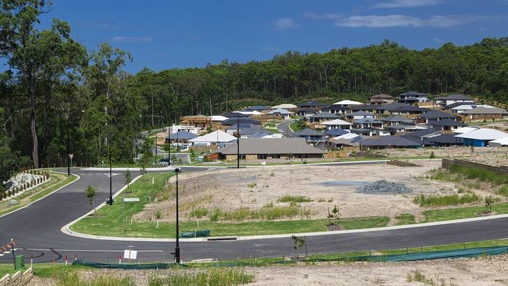 new land development site